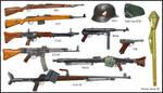 WW2 - German infantry's weapons