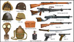 ww2 - Japanese weapons and equipment