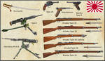 ww1 - Japanese Army and Navy weapons