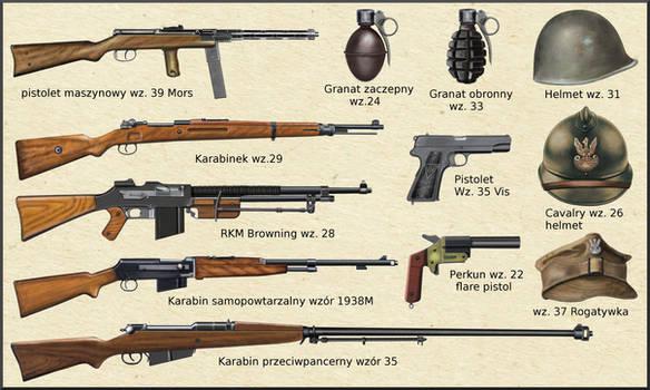 ww2 Polish  Army weapons