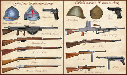 ww1 - ww2 Romanian Weapons