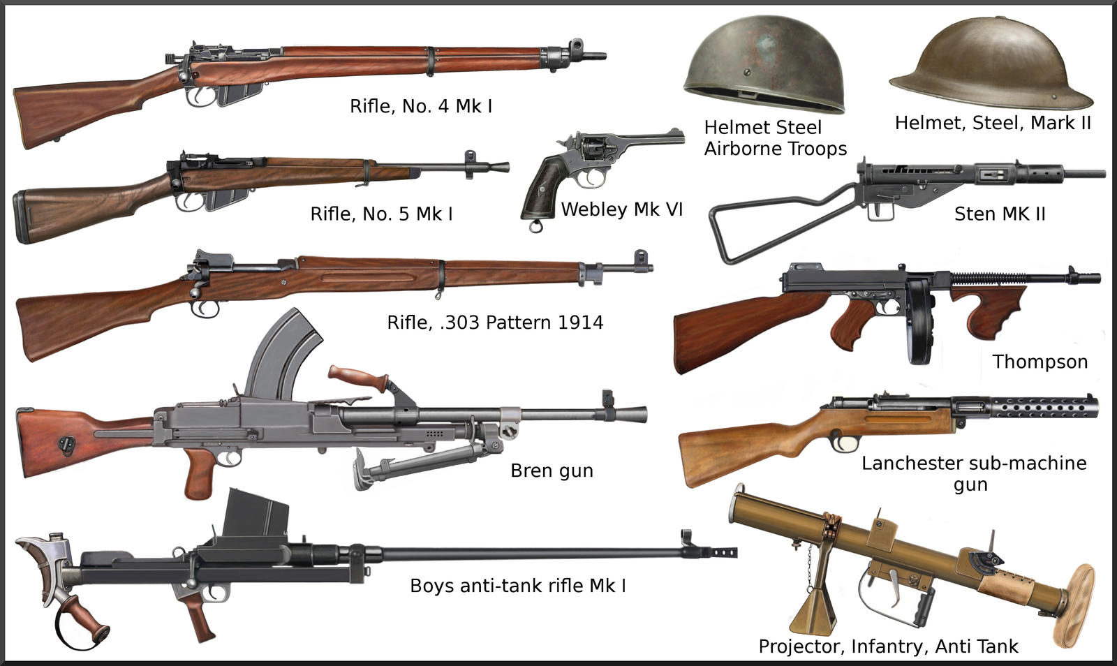 ww2 - British individual weapons by AndreaSilva60 on DeviantArt