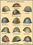 ww2 Allied Helmet