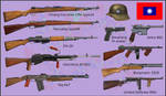 WW2 - Chinese National Revolutionary Army weapons by AndreaSilva60