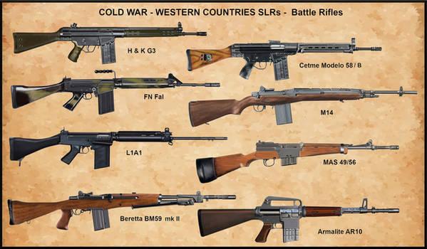 Cold War - Western Countries SLRs - Battle Rifle