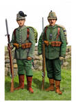 ww1 - 1914: German Saxon and Prussian  Jaeger