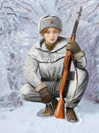 WW2 - Red Army snipers - winter