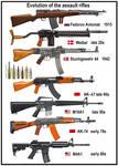Evolution of Assault Rifles
