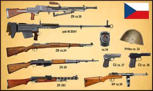 Czech weapons - ww1 - ww2   interwar period
