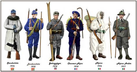 WW1 mountain troop