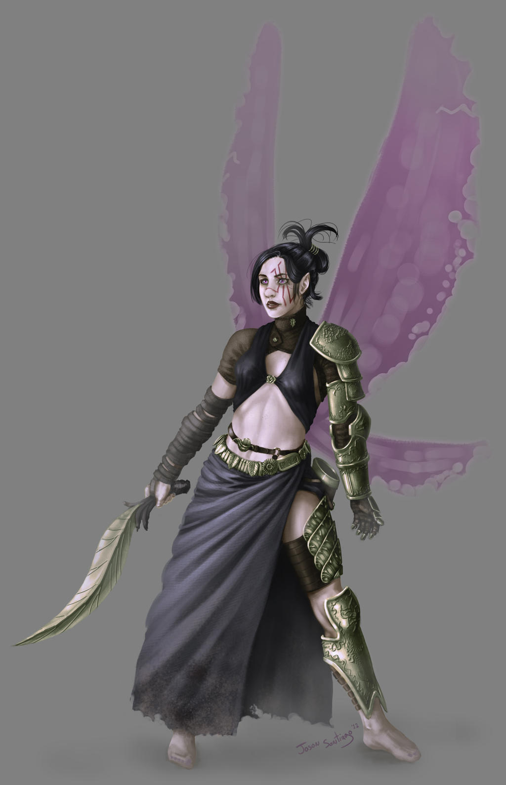 Warrior Fairy 1 by TheRogueSPiDER