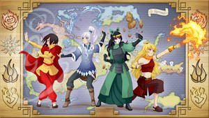 Dustbenders: The Legend of RWBY