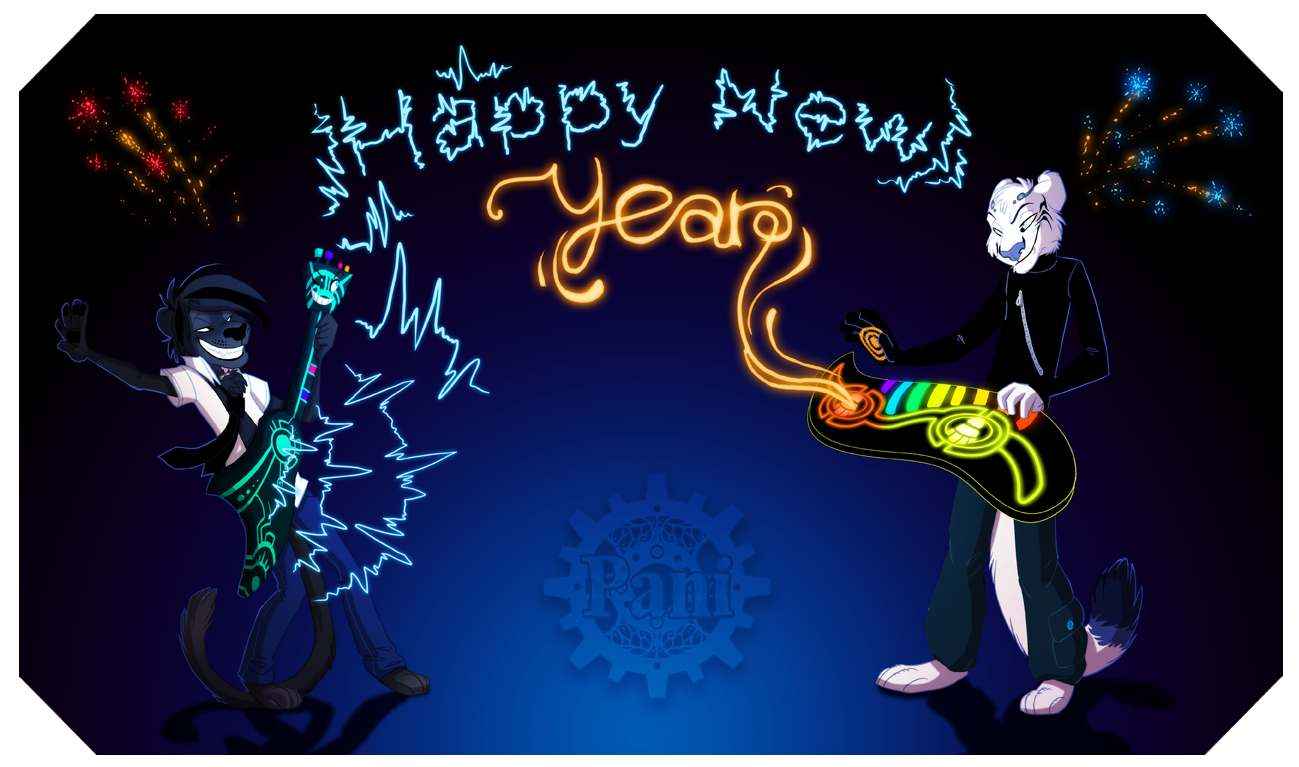 Happy New Year! by Pfauenauge