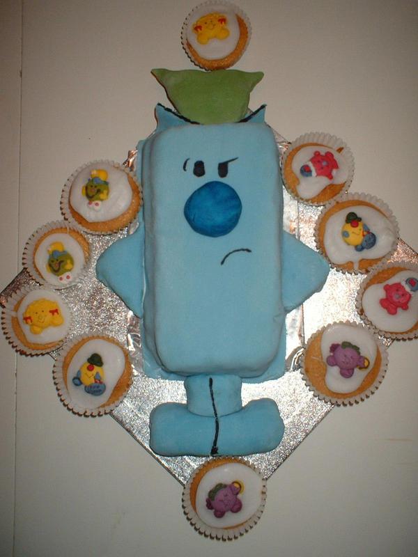 Mr Grumpy Cake By Little Miss Sarcasm On Deviantart