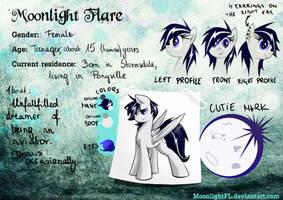 Moonlight Flare's Reference Sheet by MoonlightFL