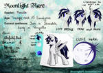 Moonlight Flare's Reference Sheet