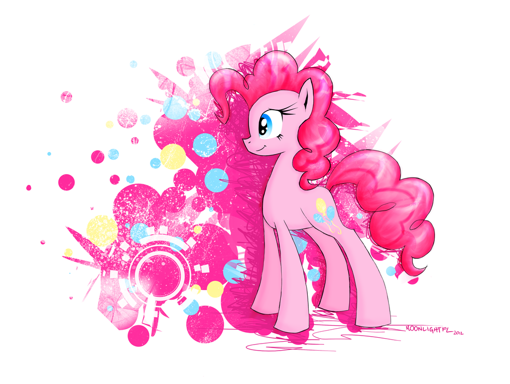Pink Galaxies by MoonlightFL
