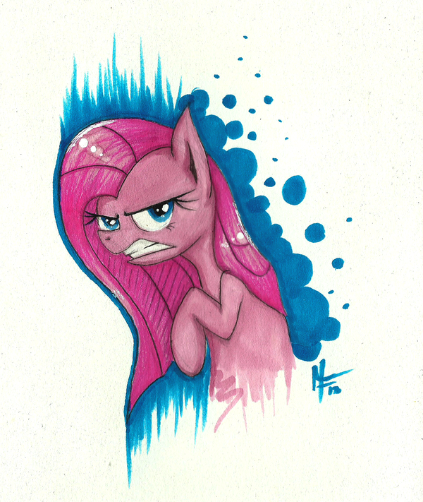 Another Pinkamena by MoonlightFL