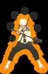 Naruto Uzumaki Mode Senjutsu Rikudou - 03 - 673