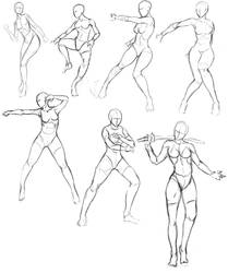 Gesture studies 2 by EduardoGaray