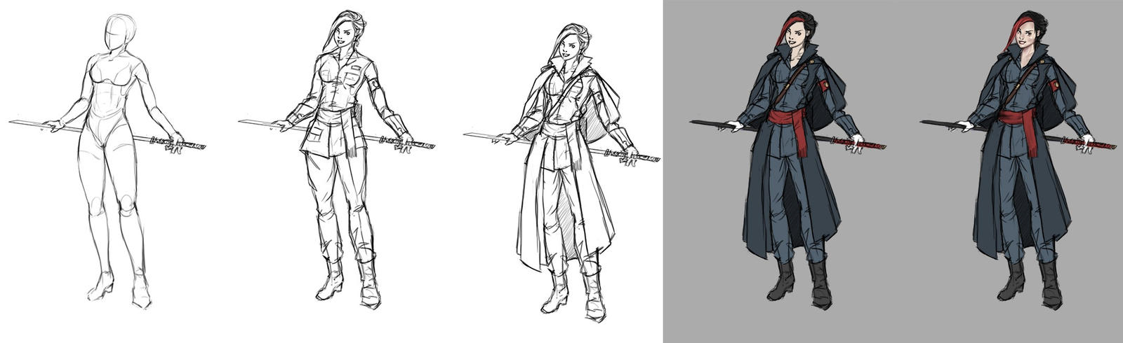 Character Development Design Process : Character design process val by eduardogaray on deviantart