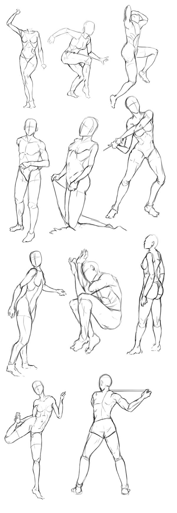 Gesture Studies 5 by EduardoGaray