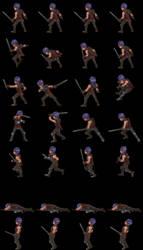 Male Protagonist (Sideview Battler) pre-render3D