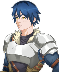 Male protagonist Character bust