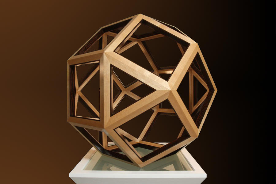 rhombicuboctahedron by sharp-chisel