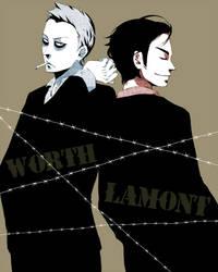 Worth and Lamont by blsuki