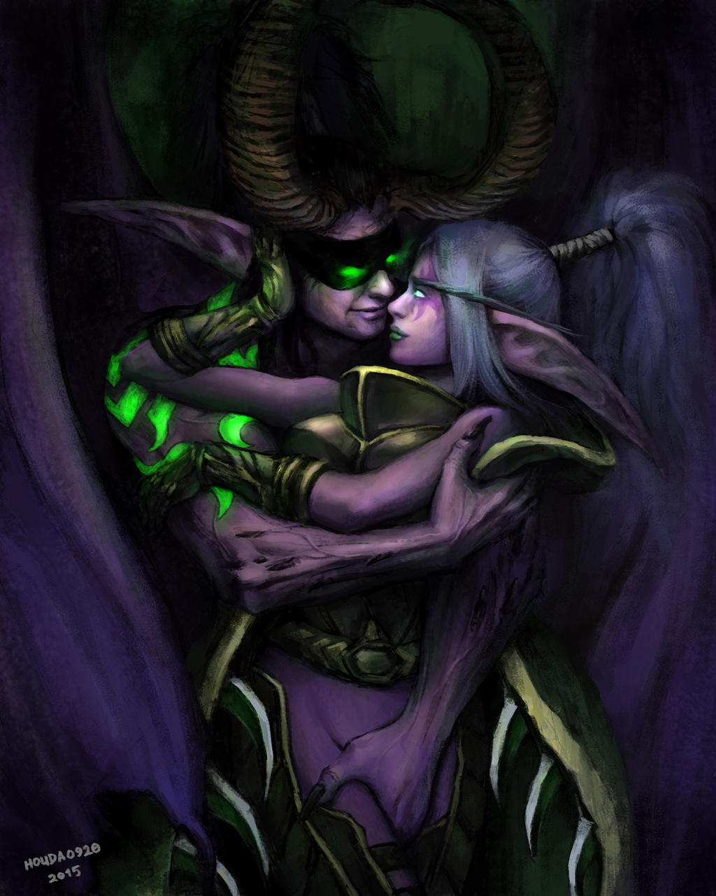 Wow demon hunter porn fanfic naked tube