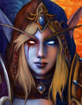 For the Horde! Sylvanas Windrunner