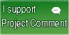 Commission: Project Comment Support Stamp by Astrikos