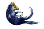 Moon Fox by Astrikos