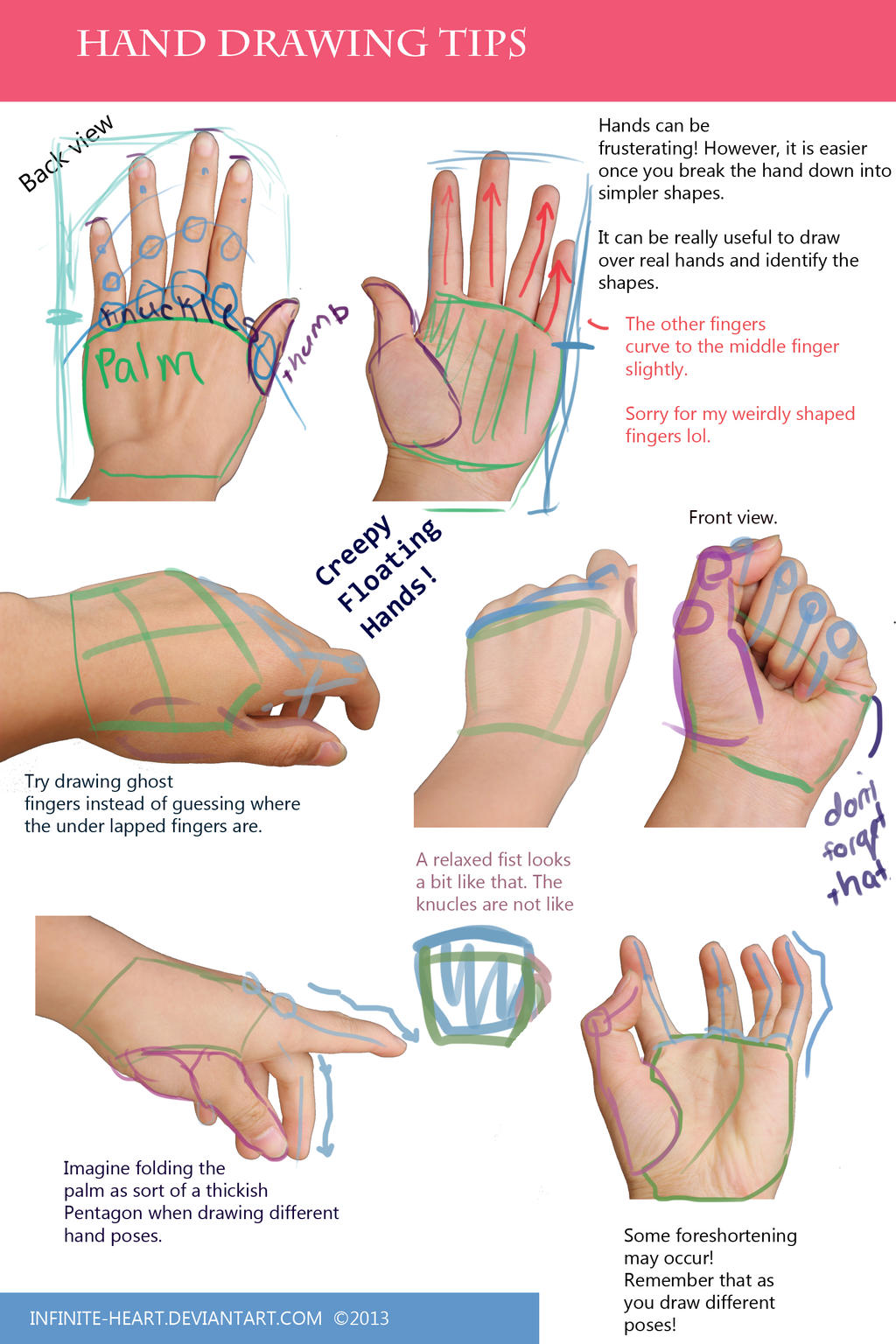 Cute Hearts To Draw For Your Boyfriend Hand Drawing Tips by Astrikos
