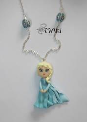 Elsa - Disney Frozen by Makicreazion
