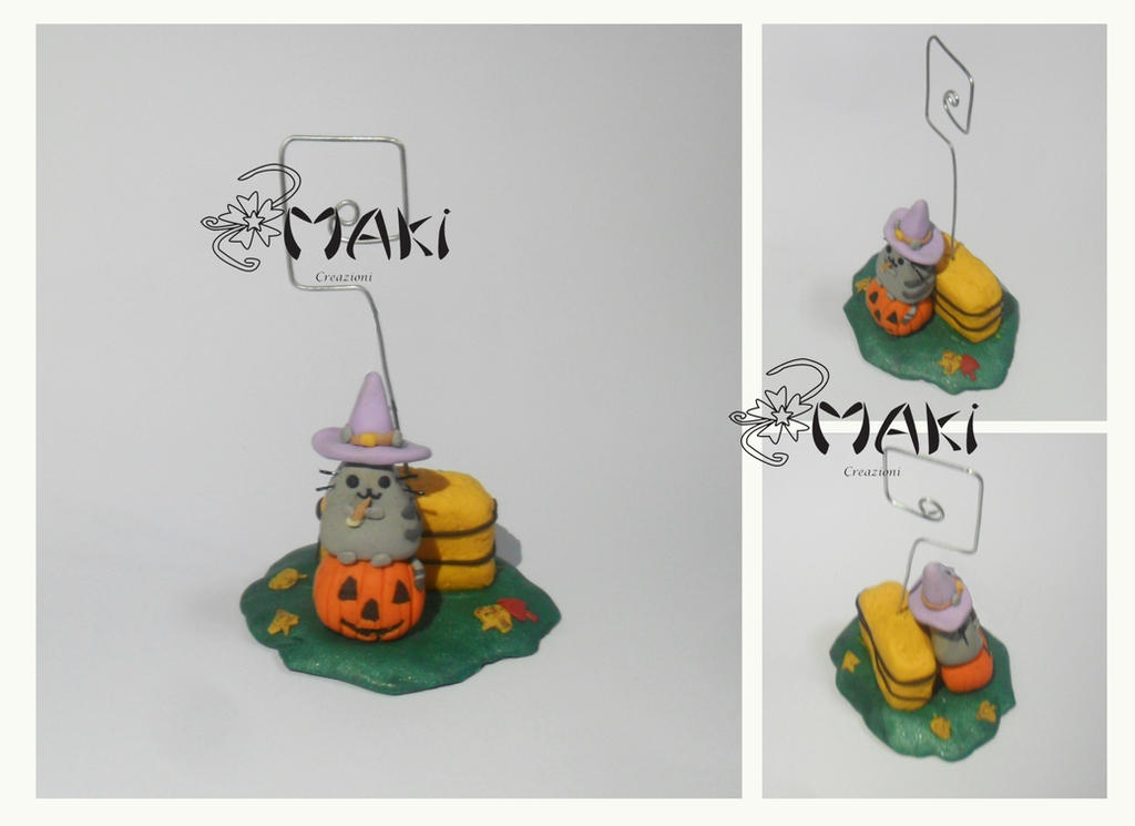 Pusheen Halloween by Makicreazion