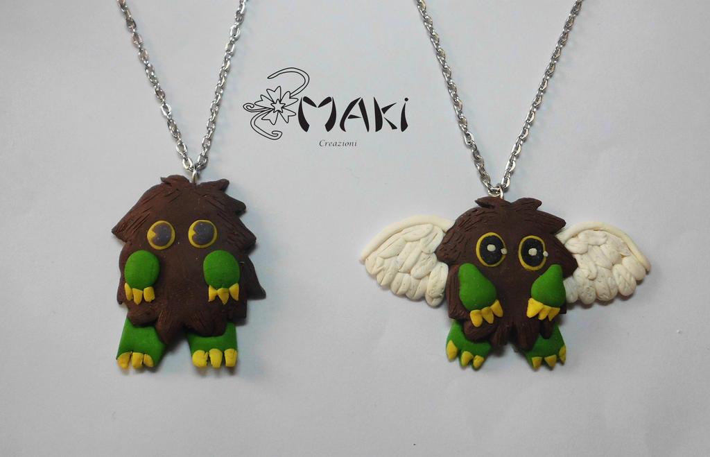 Kuriboh and Winged Kuriboh from Yu-Gi-Oh! by Makicreazion