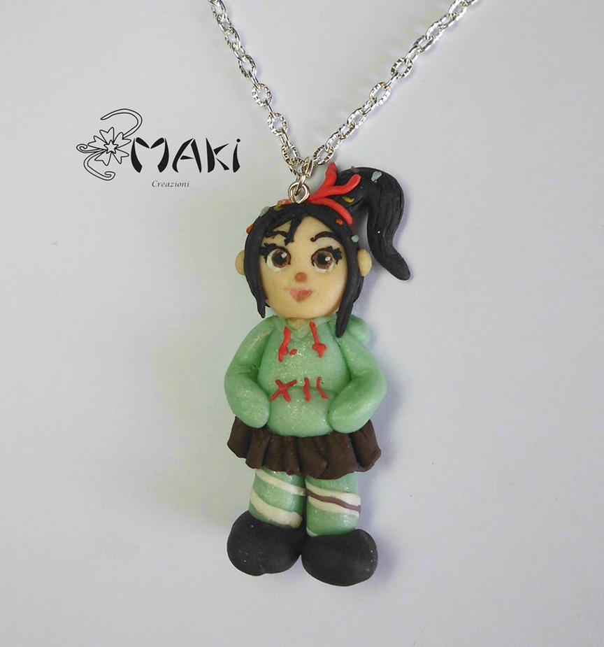 Vanellope von schweets from wreck-it Ralph by Makicreazion