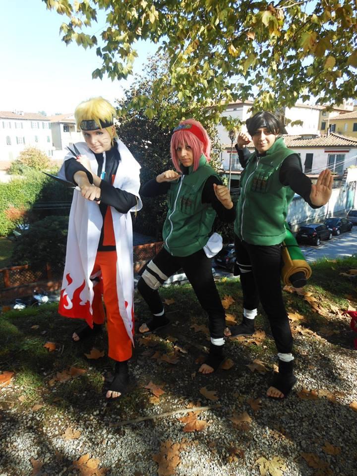 Naruto, Sakura and Tenten ninja war by Makicreazion