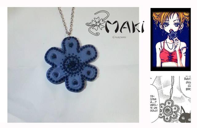 Necklace from Gokinjo Monogatari by Makicreazion
