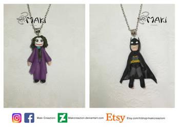Joker and Batman by Makicreazion