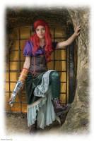 Ariel Steampunk costume by Makicreazion