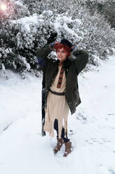 Anya in the snow by Makicreazion