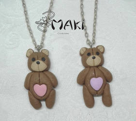lovely teddy bear by Makicreazion