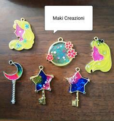 Creation resin work in progress by Makicreazion