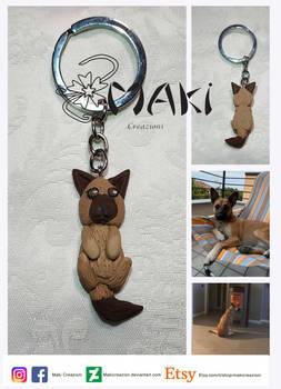 keychain Dog