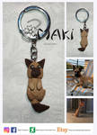 keychain Dog by Makicreazion