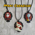 Jack, Zero and Sally cameo by Makicreazion