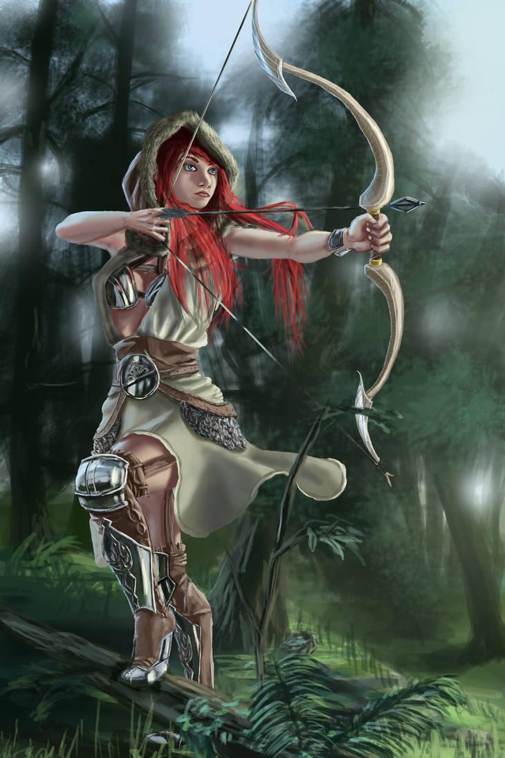 Archer by Flowlow
